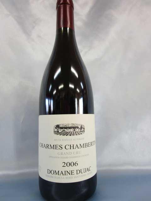 [2006] シャルム・シャンベルタン グラン・クリュ 750ml ドメーヌ・デュジャック Charmes Chambertin / Domaine Dujac