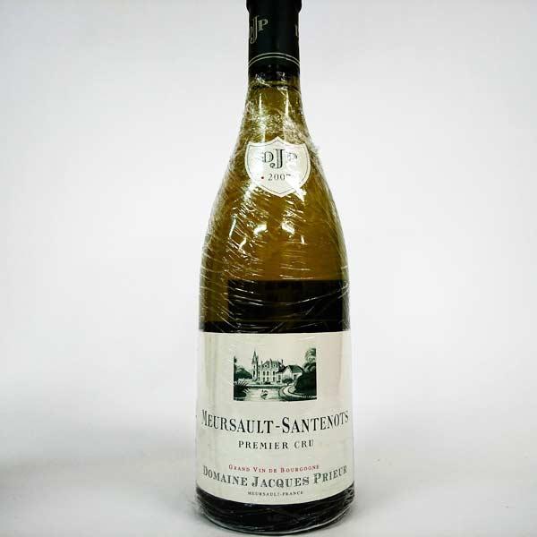 [2007] ムルソー サントノ プルミエクリュ 750ml ジャックプリウールMeursault Santenots 1er Cru / Jacques Prieur [G-2]