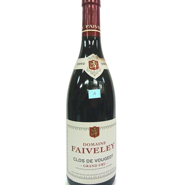 【送料無料】[2002] クロ・ヴージョ【A】 750ml フェヴレイ Clos Vougeot / Faiveley】