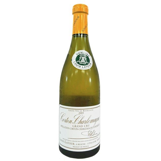 [2005] コルトン・シャルルマーニュ 750ml ルイ・ラトゥール Corton Charlemagne / Louis Latour [I-4]