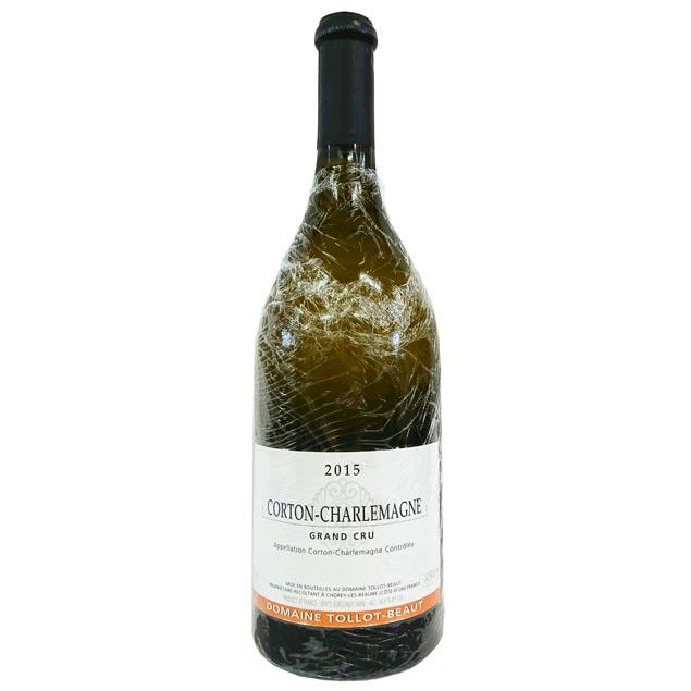 [2015] コルトン シャルルマーニュ 750ml トロ・ボー Corton Charlemagne / Tollot Beaut [B-1]