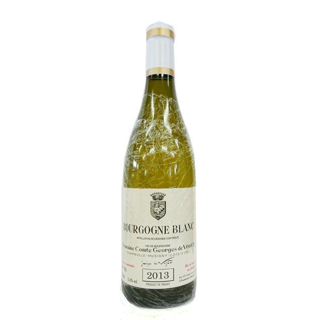 [2013] ブルゴーニュ・ブラン 750ml コント・ジョルジュ・ド・ヴォギュエ Bourgogne Blanc / Domaine Comte Georges de Vogue [H-4]
