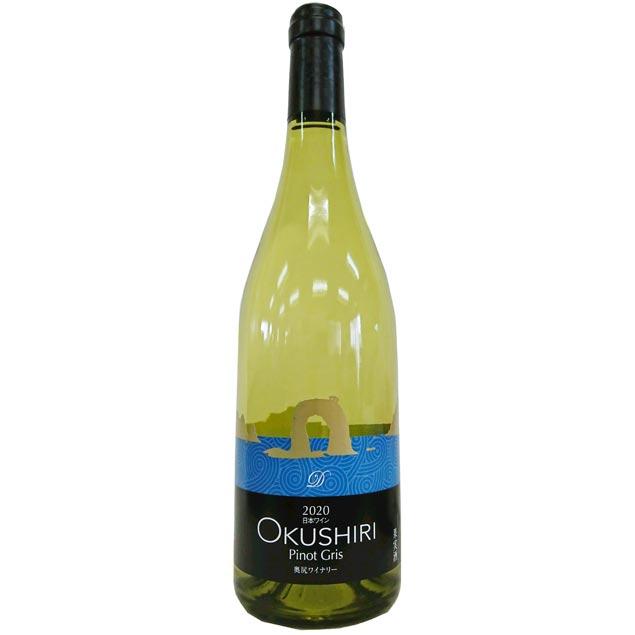 白ワイン 中口 北海道 日本ワイン 通販 2020 奥尻 ピノ Gris Z-2 絶品 奥尻ワイナリー 白 OKUSHIRI 全品送料無料 750ml グリ Pinot