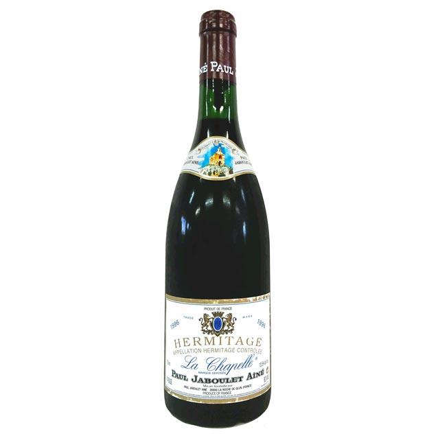 [1996] エルミタージュ ラ シャペル ルージュ 750ml ポール・ジャブレ Hermitage La Chapelle Rouge / Paul Jaboulet [B-5]