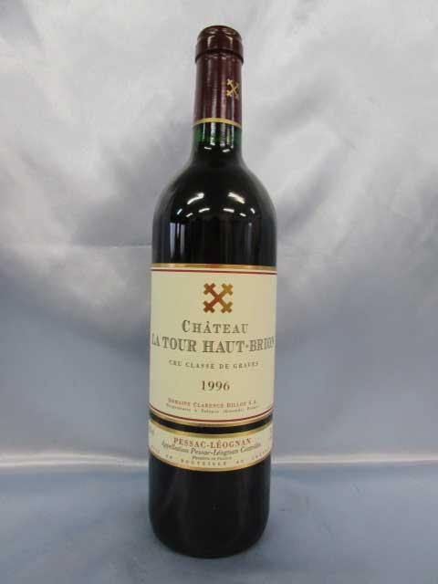 [1996] シャトー・ラトゥール・オー・ブリオン 750ml グラーヴ Ch. La Tour Haut-Brion