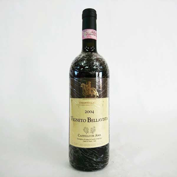 [2004] キャンティ クラッシコ ヴィニェート ベラヴィスタ 750ml カスティロ・ディ・アマ Chianti Classico Vigneto Bellavista / Castello Di Ama [R-1]