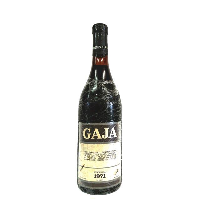 [1971] バルバレスコ 750ml アンジェロ・ガヤ Barbaresco / Angelo Gaja [P-2]