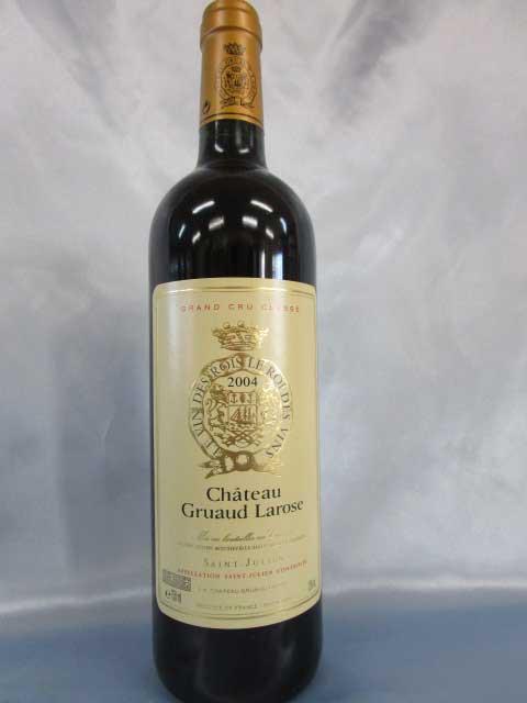 [2004] シャトー・グリュオ・ラローズ 750ml サンジュリアン Chateau Gruaud Larose