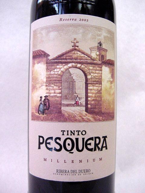 [2002] ティント・ペスケラ・リザーブ・ミレニアム 750ml アレハンドロ・フェルナンデス Tinto Pesquera Reserva Milleni / Alejandro Fernandez