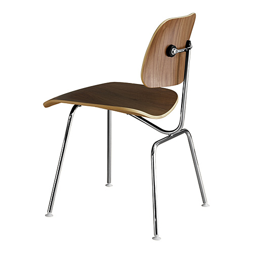 Enjoyable Hermanmiller Herman Mirror Eames Plywood Dining Chair Dcm Walnut Pabps2019 Chair Design Images Pabps2019Com