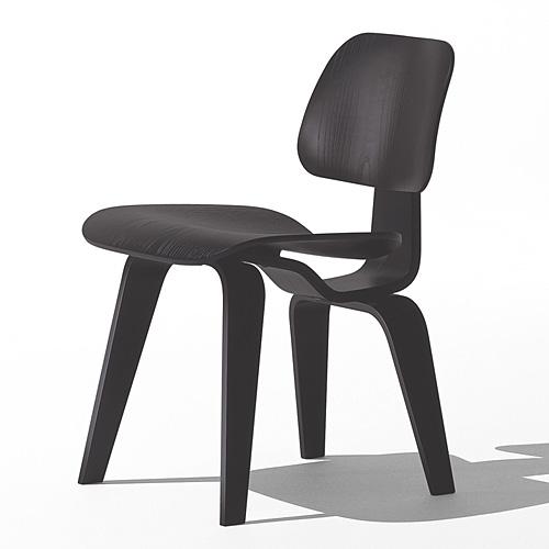 【ポイント5倍!】HermanMiller ハーマンミラー 「Eames Plywood Dining Chair (DCW)」 エボニー【取寄品】