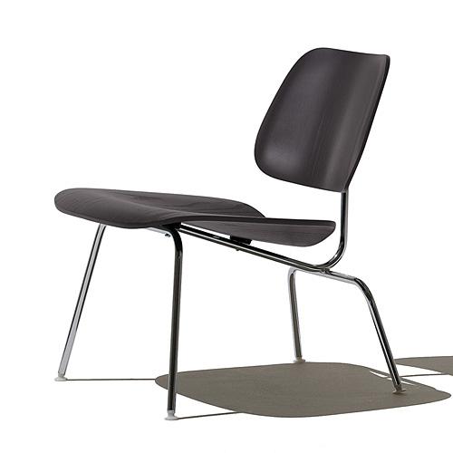 【ポイント5倍!】HermanMiller ハーマンミラー 「Eames Plywood Lounge Chair (LCM)」 エボニー【取寄品】