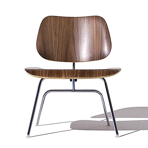【ポイント5倍!】HermanMiller ハーマンミラー 「Eames Plywood Lounge Chair (LCM)」 ウォールナット【取寄品】