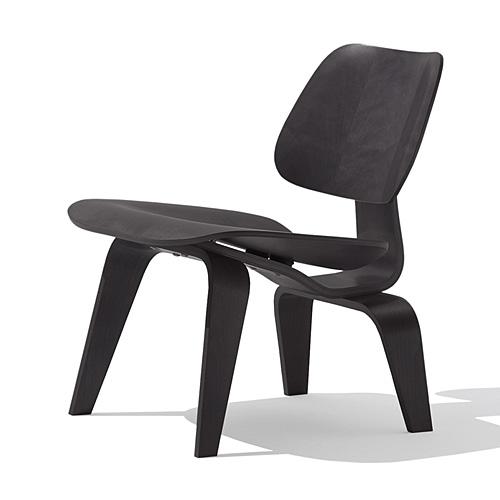 【ポイント5倍!】HermanMiller ハーマンミラー 「Eames Plywood Lounge Chair (LCW)」 エボニー【取寄品】