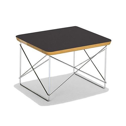 【お買い物マラソンで最大ポイント27倍!8/4(土)20時~】HermanMiller ハーマンミラー 「Eames Wire-Base Table」 ブラック【取寄品】