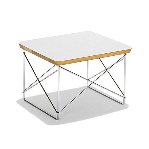 【お買い物マラソンで最大ポイント27倍!8/4(土)20時~】HermanMiller ハーマンミラー 「Eames Wire-Base Table」 スタジオホワイト【取寄品】