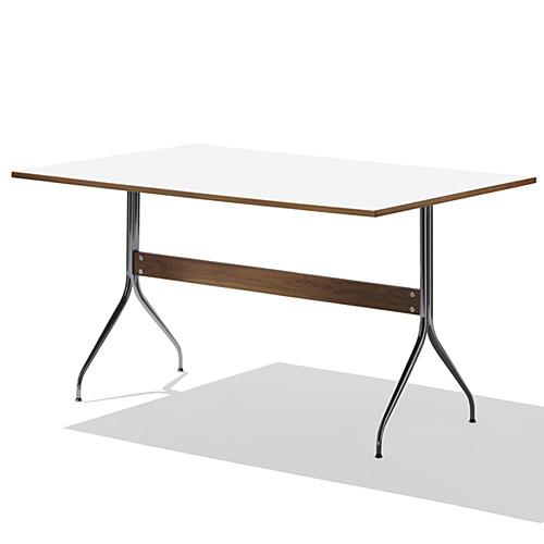 【ポイント5倍!】HermanMiller ハーマンミラー 「Nelson Swag Leg Group Work Table」 ホワイトラミネートトップ【取寄品】