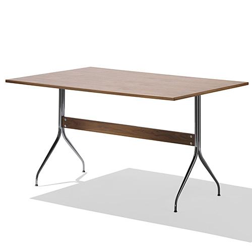 【ポイント5倍!】HermanMiller ハーマンミラー 「Nelson Swag Leg Group Work Table」 ウォールナットトップ【取寄品】