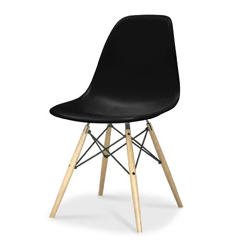 HermanMiller ハーマンミラー 「Eames Shell Chair / Side Chair(DSW)」 ブラック【取寄品】