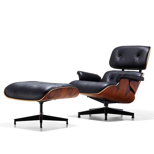 【お買い物マラソン開催中!最大2000円OFFクーポン!ポイント最大17倍|7/11 01:59まで】HermanMiller(ハーマンミラー)「Eames Lounge Chair & Ottoman 特別セット」サントスパリサンダー