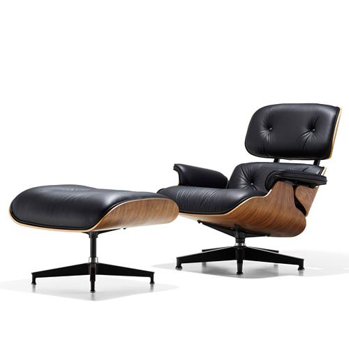 【お買い物マラソンで最大ポイント17倍!8/4(土)20時~】HermanMiller ハーマンミラー 「Eames Lounge Chair & Ottoman 特別セット」ウォールナット【取寄品】
