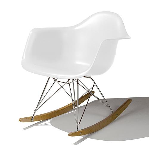 【ポイント5倍!】HermanMiller ハーマンミラー 「Eames Shell Chair / Armchair(シェルチェア)(RAR)」 ホワイト