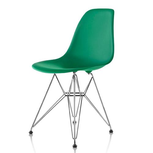 【ポイント5倍!】HermanMiller ハーマンミラー 「Eames Shell Chair / Side Chair(DSR)」ケリーグリーン【取寄品】