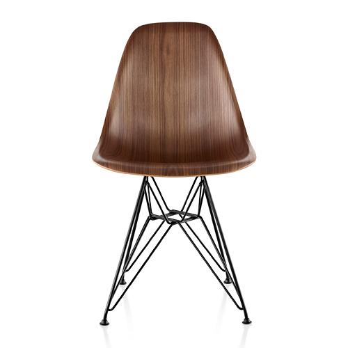 【ポイント5倍!】HermanMiller ハーマンミラー 「Eames Wood Chair」ワイヤーベース/ブラック/ウォールナット【取寄品】
