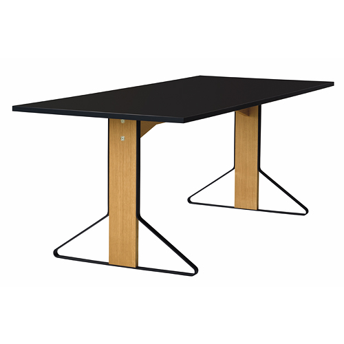 artek(アルテック)「KAARI TABLE(カアリ・テーブル)」 W200cm ナチュラルオーク/ブラックグロッシー