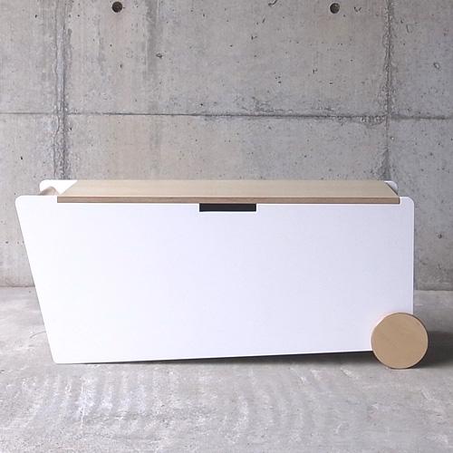 abode(アボード)「BENCH BOX」ホワイト