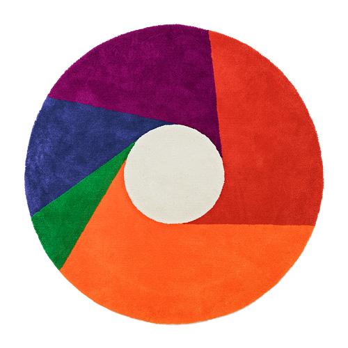 METROCS(メトロクス)「マックス・ビル ラグ color wheel(カラーホイール)」1800