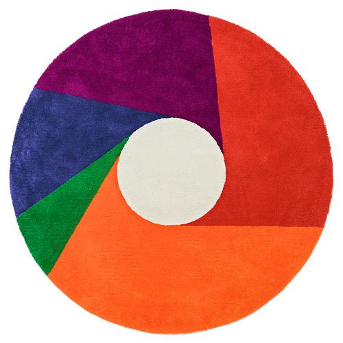 【サイズ交換OK】 METROCS(メトロクス)「マックス・ビル ラグ ラグ color wheel(カラーホイール)」2000【受注品 color】, シモキタヤマムラ:ccaa40fb --- canoncity.azurewebsites.net