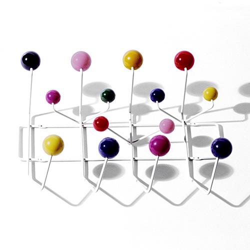 【お買い物マラソンで最大ポイント27倍!8/4(土)20時~】HermanMiller ハーマンミラー 「Eames Hang-It-All」マルチカラー【取寄品】
