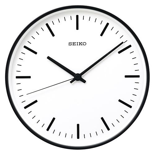 【最大1000円OFFクーポン|マラソン最大33倍 04/16(火) 01:59まで】SEIKO (セイコー)「STANDARD」 アナログ電波クロック φ310mm / ブラック