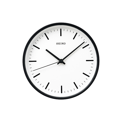 SEIKO (セイコー)「STANDARD」 アナログ電波クロック φ200mm / ブラック