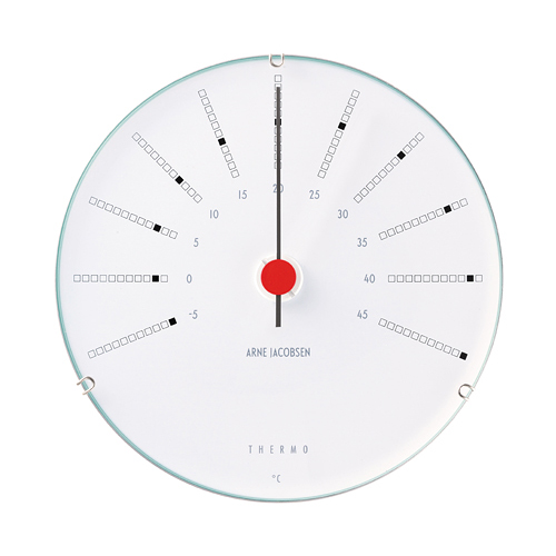 【お買い物マラソンで最大ポイント32倍!8/4(土)20時~】ROSENDAHL (ローゼンダール)「Bankers Thermometer (バンカーズ 温度計)」 120mm