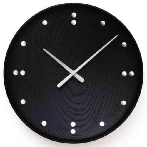 【お買い物マラソン開催中!最大1000円OFFクーポン!ポイント最大34倍|4/28 01:59まで】Finn Juhl(フィン・ユール)Wall Clock Black 345mm