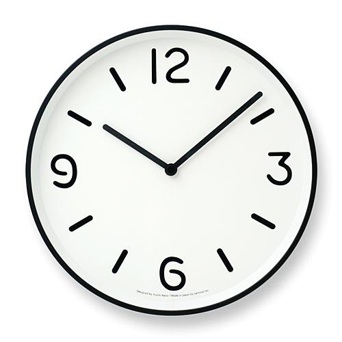 Lemnos正規販売店 日本のものづくりを世界に発信するデザインクロック ポイント10倍 絶品 国内在庫 Lemnos レムノス モノクロック ホワイト MONO Clock
