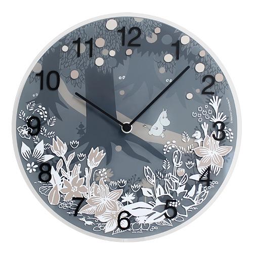 【最大1000円OFFクーポン|マラソン最大33倍 04/16(火) 01:59まで】MOOMIN TIMEPIECES(ムーミン・タイムピーシーズ)「Moomin in the forest」