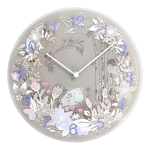 【最大1000円OFFクーポン|マラソン最大33倍 04/16(火) 01:59まで】MOOMIN TIMEPIECES(ムーミン・タイムピーシーズ)「Moomin picking flower」