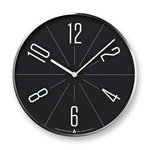 Lemnos正規販売店 日本のものづくりを世界に発信するデザインクロック ポイント10倍 日本最大級の品揃え 売却 Lemnos GUGU ブラック文字盤シルバー枠 ググ レムノス