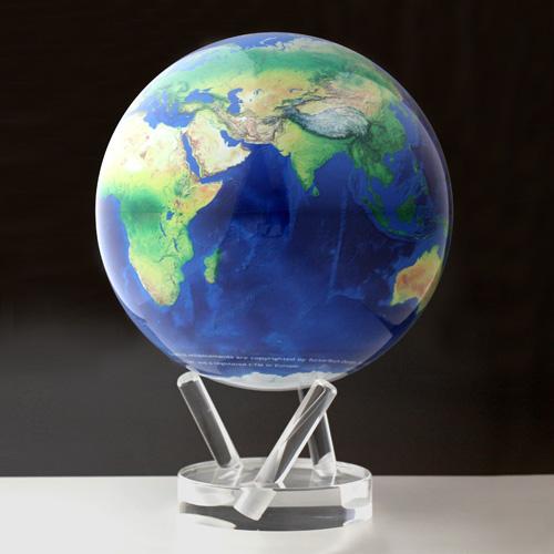 【最大1000円OFFクーポン|マラソン最大33倍 04/16(火) 01:59まで】MOVA Globe(ムーバ・グローブ)「Natural Earth」8.5インチ【取寄品】
