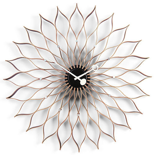 【最大1000円OFFクーポン|マラソン最大33倍 04/16(火) 01:59まで】Vitra(ヴィトラ)「Sunflower Clock(サンフラワー クロック)」バーチ