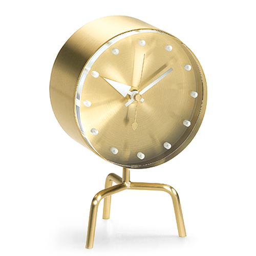 【スマホエントリーでポイント最大22倍!6/8(金) 9:59まで 】Vitra(ヴィトラ)「Tripod Clock(トライポッド クロック)」