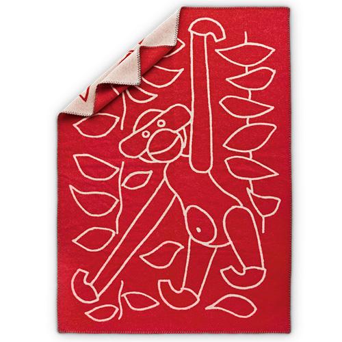 【お買い物マラソンで最大ポイント32倍!8/4(土)20時~】Kay Bojesen Denmark(カイ・ボイスン デンマーク)「Blanket(ブランケット)」レッド