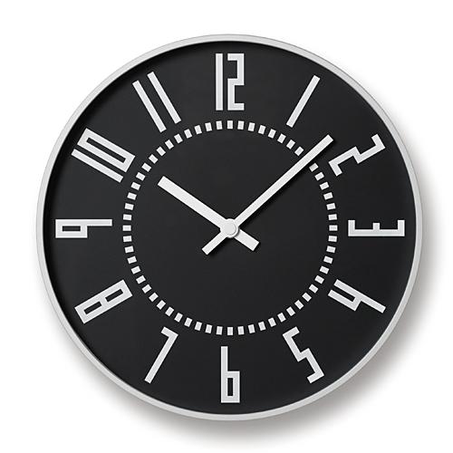 【最大1000円OFFクーポン|マラソン最大33倍 04/16(火) 01:59まで】Lemnos(レムノス)「eki clock(エキクロック)」ブラック