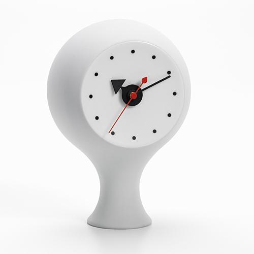 【お買い物マラソン開催中!最大1000円OFFクーポン!ポイント最大34倍 4/28 01:59まで】Vitra(ヴィトラ)「Ceramic Clock(セラミック クロック)MODEL#1」ライトグレー[914VI21506401]