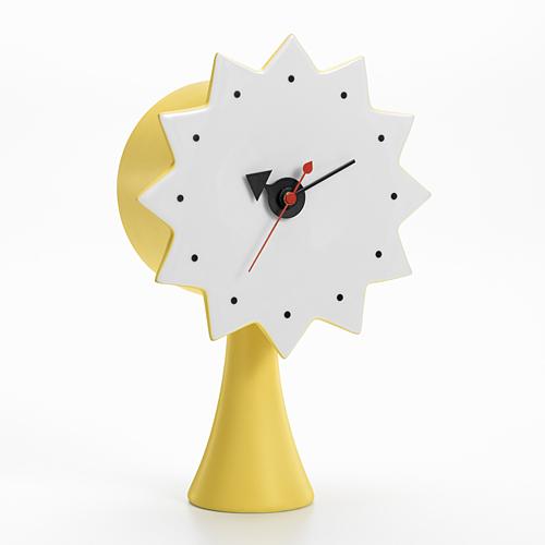 Vitra(ヴィトラ)「Ceramic Clock(セラミック クロック) MODEL#2」イエロー[914VI21506501]