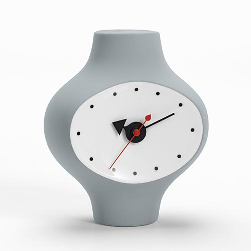 【最大1000円OFFクーポン|マラソン最大33倍 04/16(火) 01:59まで】Vitra(ヴィトラ)「Ceramic Clock(セラミック クロック) MODEL#3」ダークグレー[914VI21506601]