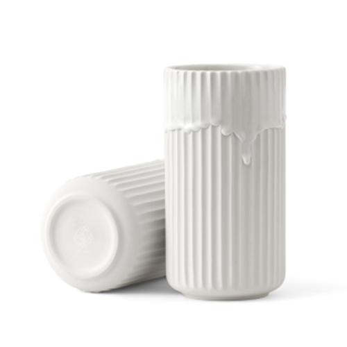 新しい季節 リュンビューポーセリン|Lyngby φ10×H20 ホワイト Vase(リュンビューベース) ランニンググレーズ ホワイト φ10×H20, テルショップジャパン:47a33908 --- learningplanet.in